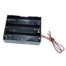 Uchwyt baterii 18650 x3