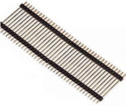 Listwa 40 pin GOLDPIN męska dystansowa h=25mm