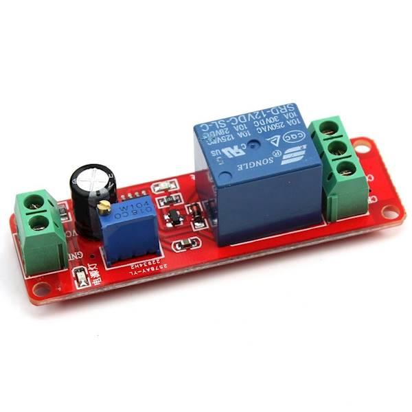 Moduł 1 przekaźnika z układem czasowym do arduino