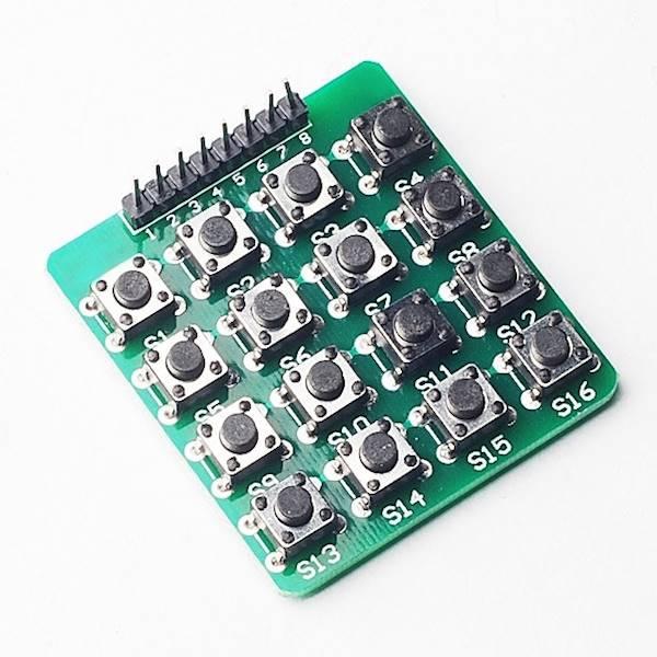 Moduł klawiatury 16 przycisków