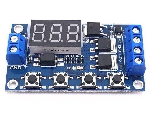 Moduł timera - cyfrowy przekaźnik 1s-999min