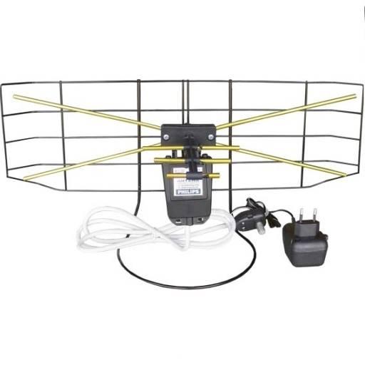 Antena pokojowa szerokopasmowa siatka wzmacniacz
