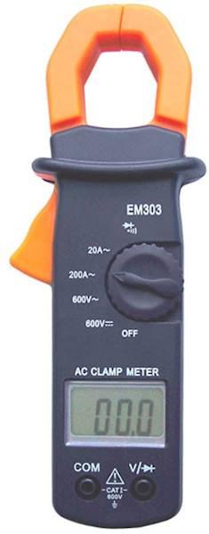 Miernik cęgowy EM303