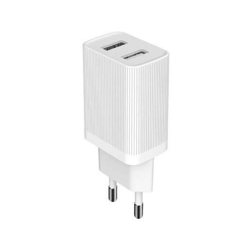 Zasilacz ładowarka USB 230V 2xUSB 2,1A Kingkong WP-U79