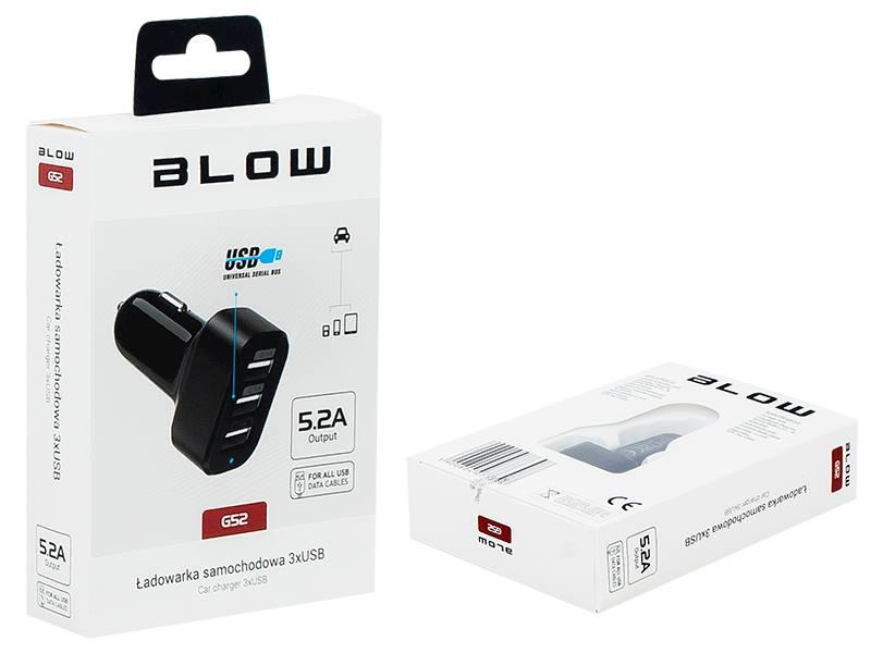 Zasilacz ładowarka USB 12V 3x USB 5,2A