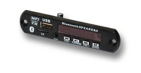 Moduł audio odtwarzacz MP3 z wyświetlaczem LED USB/SD/FM/BT + pilot
