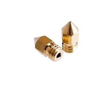 Dysza 0,4mm M6 filament 1,75mm h=13,3mm stożkowa do RepRap E3D V5 V6