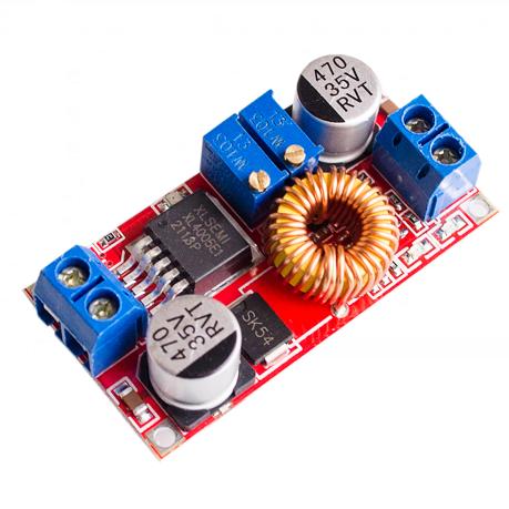 Moduł przetwornica STEP-DOWN XL4015E1 5A regulowany prąd i napięcie