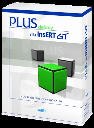 PLUS dla InsERT GT zielony