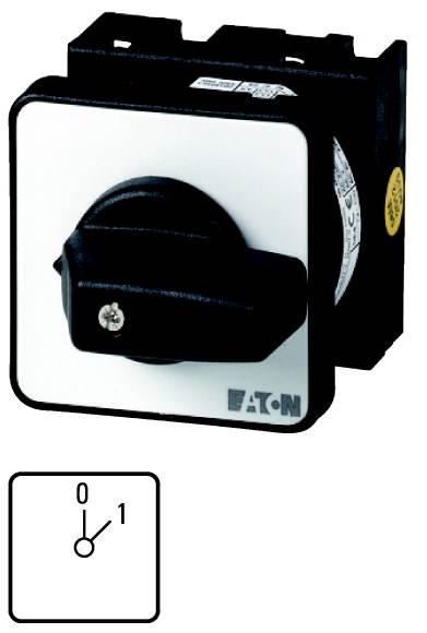 T0-1-15402/E Łącznik krzywkowy In=20A P=6.5 kW