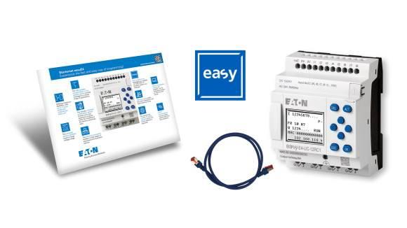 EASY-BOX-E4-AC1 easyE4. easySoft. kabel - STARTERK