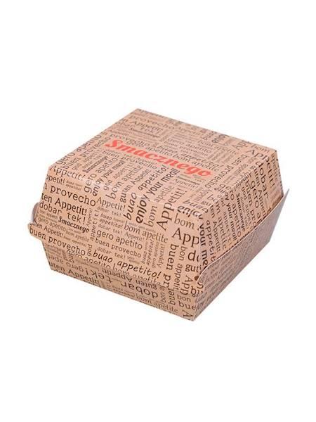 Burger Box ŻÓŁTY  XL  a`1000