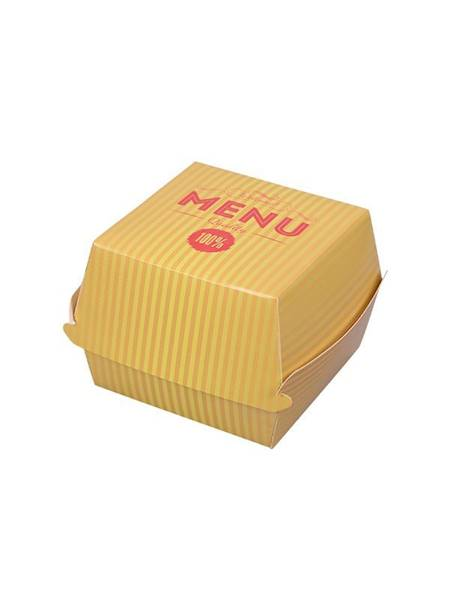Burger Box ŻÓŁTY  M  a`1000