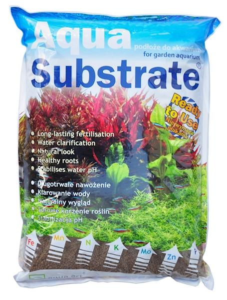 Aqua Substrate 5,4 kg (brązowe)