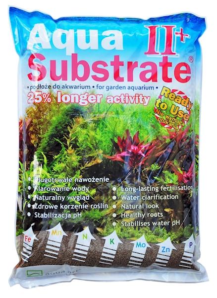 Aqua Substrate II+ 5,4 kg (brązowe)