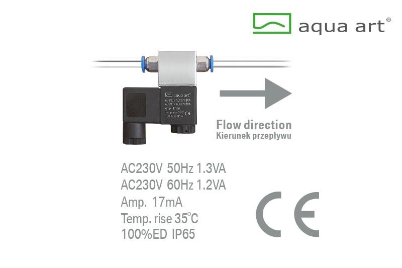 Elektrozawór CO2 230V AC