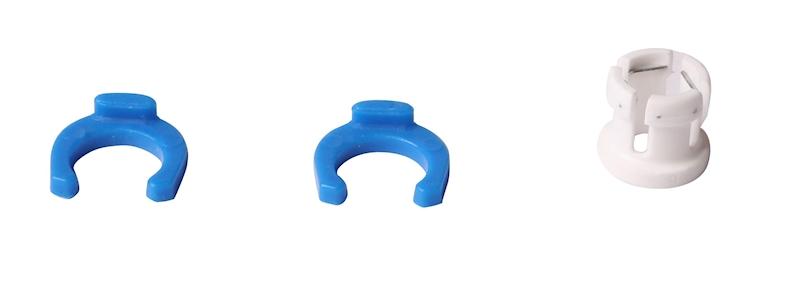 Klips do złaczek 1/4' do filtra niebieski - JG