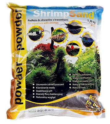 Shrimp Sand  1,8 kg Powder (brązowe)