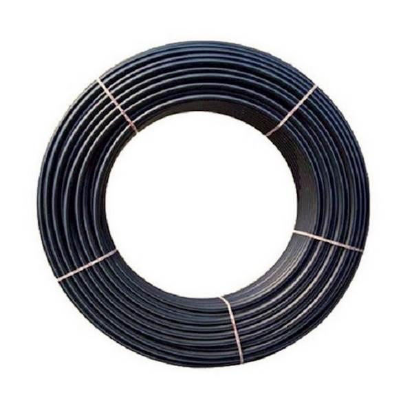 Rura PE do Nawadniania DN 75 x 4,5 mm PN10 Czarna z Niebieskim Paskiem
