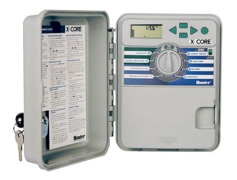 Sterownik HUNTER X-CORE-601-E zewnętrzny ( 6 sekcji )