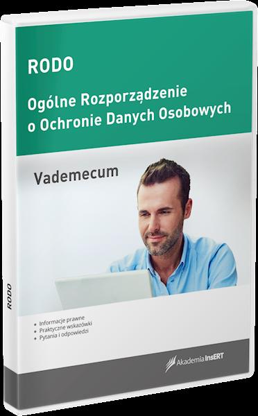 RODO - vademecum (licencja elektroniczna)
