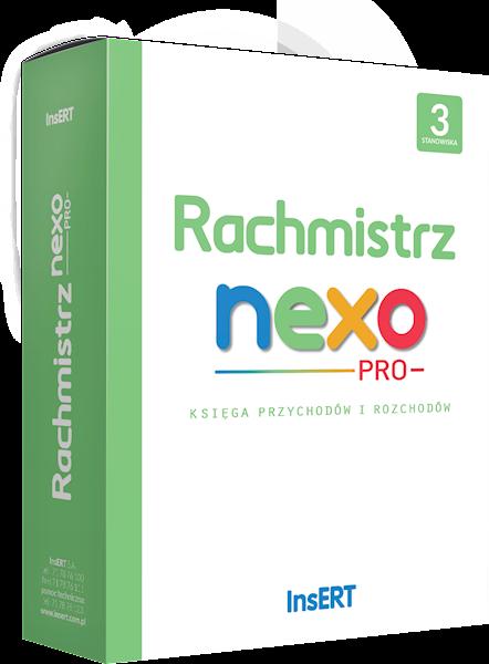 Rachmistrz nexo PRO (licencja elektroniczna na 3 st.)