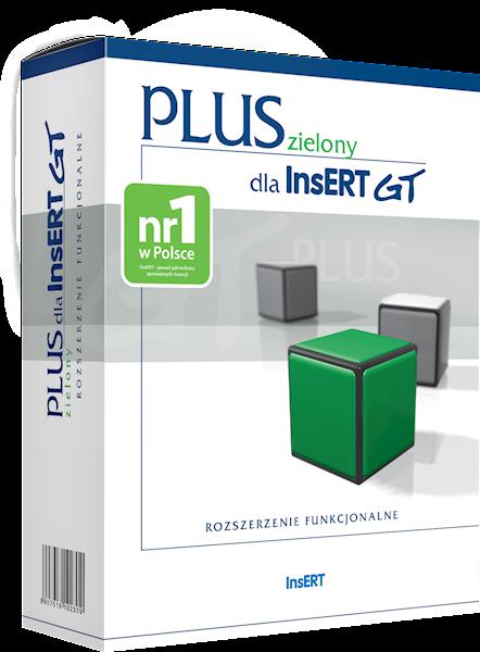 zielony PLUS dla InsERT GT (licencja elektroniczna)