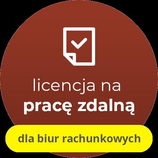 Gratyfikant GT - licencja oddziałowa na pracę zdalną (e-lic.) dla biur rachunkowych