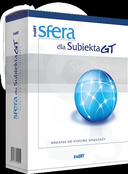 Sfera dla Subiekta GT (licencja elektroniczna)