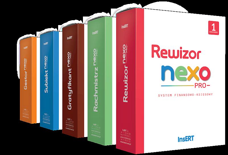 Doradca podatkowy nexo (Rewizor, Rachmistrz, Gratyfikant, Subiekt, Gestor) e.lic.