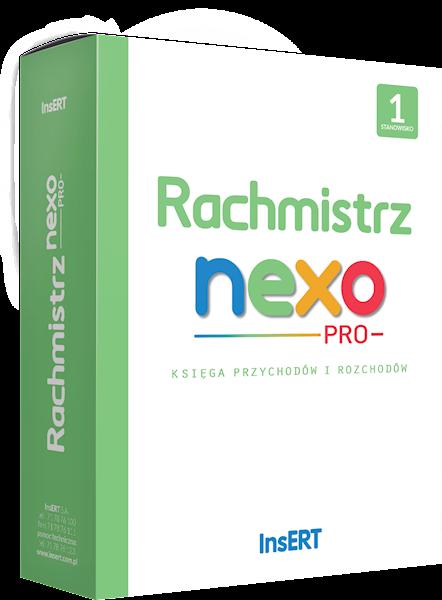 Rachmistrz nexo PRO (licencja elektroniczna na 1 st.)