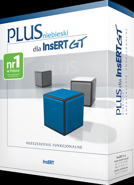 niebieski PLUS dla InsERT GT (licencja elektroniczna)