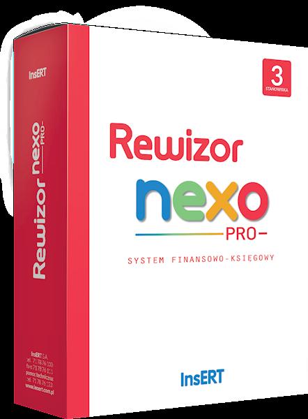 Rewizor nexo PRO (licencja elektroniczna na 3 st.)