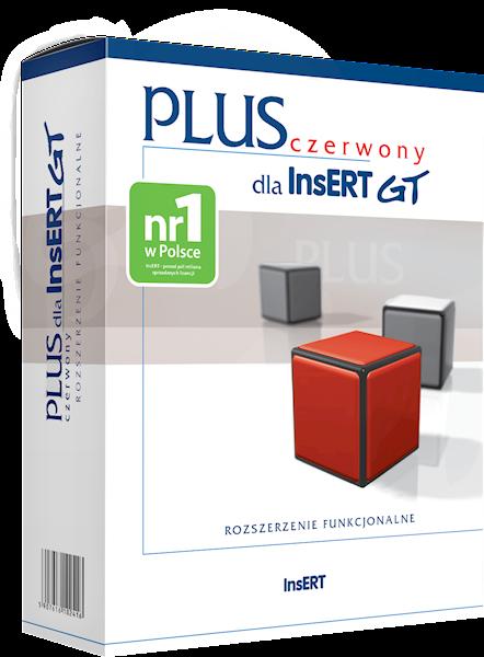 czerwony PLUS dla InsERT GT (licencja elektroniczna)