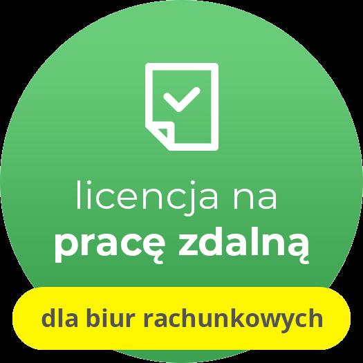Rachmistrz GT - licencja oddziałowa na pracę zdalną (e-lic.) dla biur rachunkowych