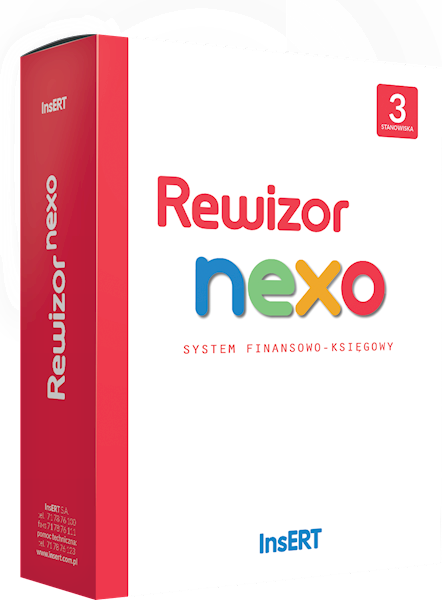 Rewizor nexo (licencja elektroniczna na 3 st.)