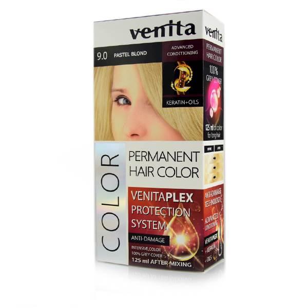 Farba do farbowania długich włosów 125 ml 9.0  Pastelowy Blond