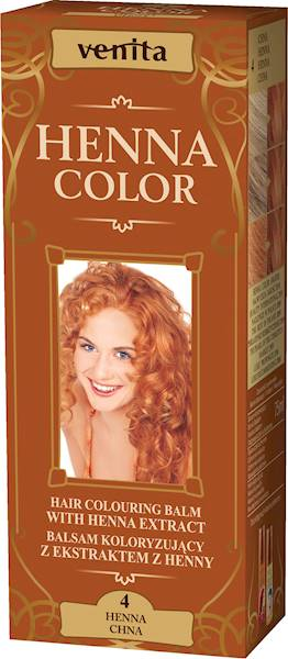 HENNA COLOR BALSAM CHNA 4