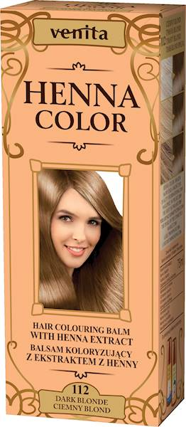 HENNA COLOR BALSAM CIEMNY BLOND 112