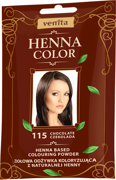 ZOK HENNA COLOR CZEKOLADA 115
