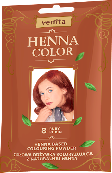 ZOK HENNA COLOR RUBIN 8