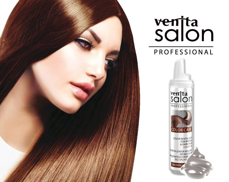 V.SALON COLOR REVITALIZER BROWN&DARK 75 ML
