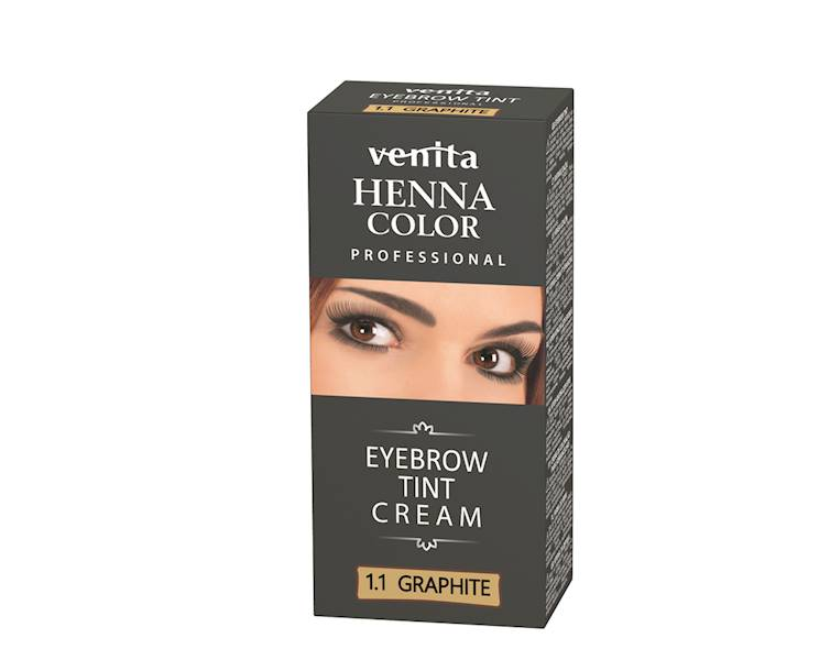 Henna do brwi w kremie GRAFITOWA 15 ml