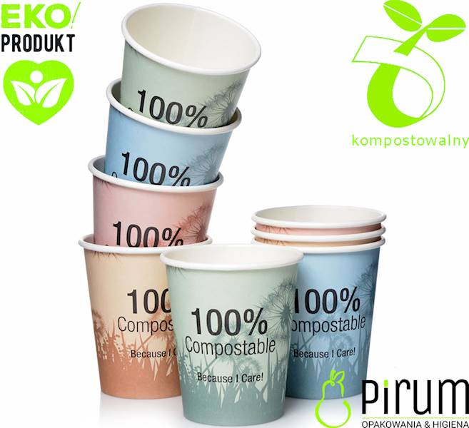 Abena EKO Kubek 10cl 65mm 100% Compostable 50szt