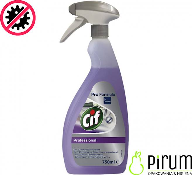 Diversey Cif 750ml 2in1 Cleaner Disinfectant
