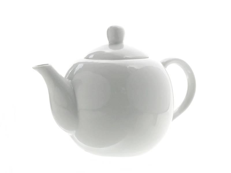 Porcelanowy DZBANEK do herbaty 1l / Porcelain teapot WHITE 1 l 8712442911654 /24303207