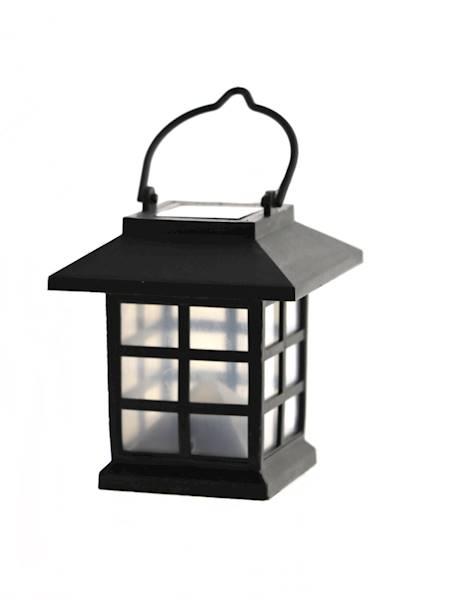 LED SOLAR lampion latarenka do zawieszenia / LED SUMMER solar PLASTIC HOUSE 7x6 cm hang 4038732601208 / 60120