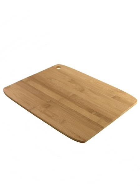 Bambusowa deska PROSTOKĄTNA 38 x 29 x 0,8 cm CIENKA / Bamboo cutting board 38x29x0,8 cm 8712442110644 /24500986