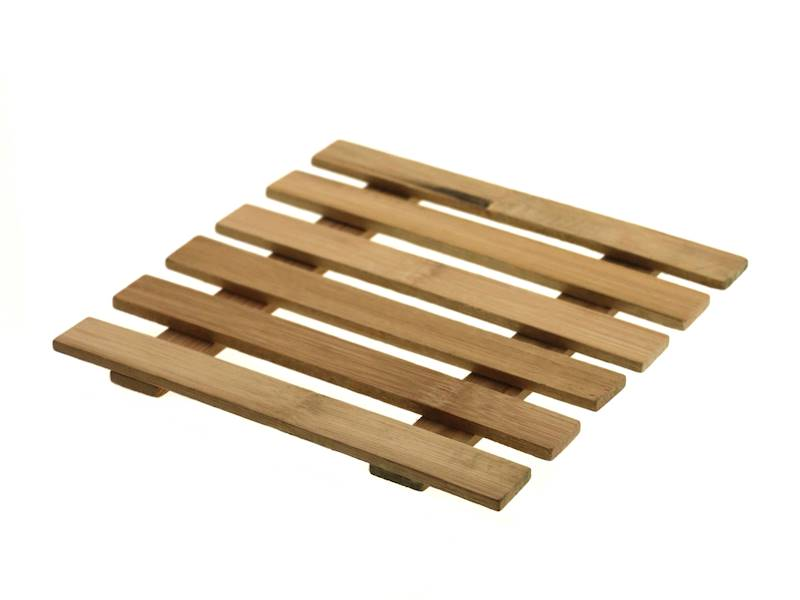 Bambusowa deska podstawka 18 cm do serwowania lub pod garnek / Bamboo coaster board 18 cm 8712442076193 / 24501048