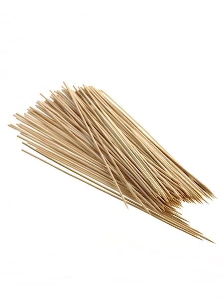 Bambusowe szpilki do burgerów/szaszłyków 30 cm 100 sztuk / Party bamboo GRILL 30 sticks 100 pcs set 8712442909651 / 22271190
